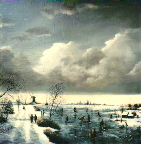 Dutch Winter Scene