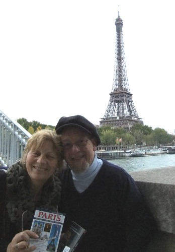 Ann and I and Eiffel.